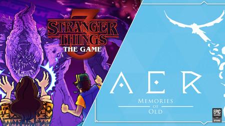 Descarga gratis AER: Memories of Old y Stranger Things 3: The Game en la Epic Games Store y te los quedas para siempre