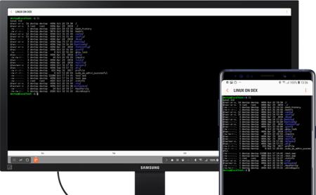 Linux on DeX se actualiza y llega al Galaxy S9, S9+, los S10 y la Tab S5e
