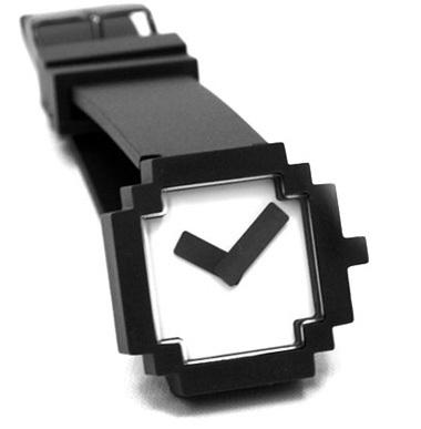 Icon Watch, las once y píxel