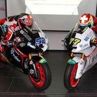 En blanco y negro: así de bipolar vuelve la Suter de Moto2 en el Kiefer Racing