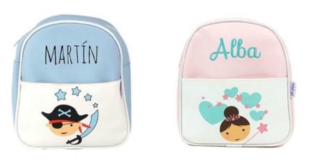 mochilas personalizadas para la vuelta al cole