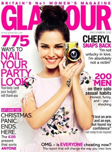 Cheryl Cole, eso sí que es una portada con Glamour