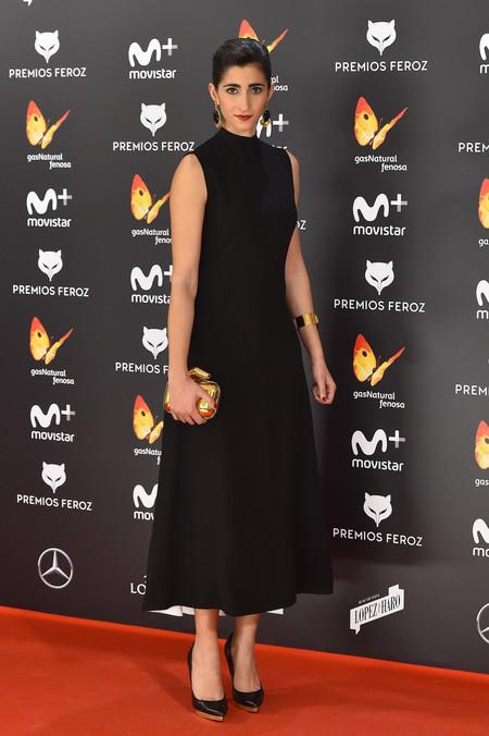 Alba Molina En Los Premios Feroz 2017