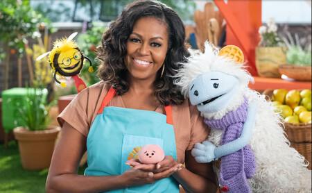 Michelle Obama y dos marionetas son los protagonistas de Gofre + Mochi, la nueva serie de gastronomía para niños de Netflix