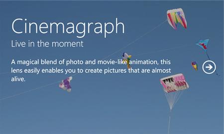 Nokia Cinemagraph llega a Windows Phone 7.x