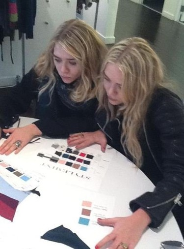 Mary Kate y Ashley Olsen las vendedoras 'deluxe'