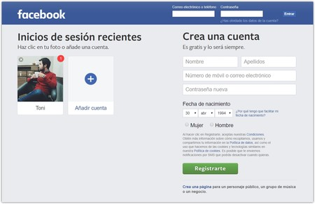 Facebook Entra O Registrate Google Chrome 2019 04 30 17 47 43
