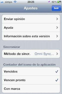 Omnifocus iOS