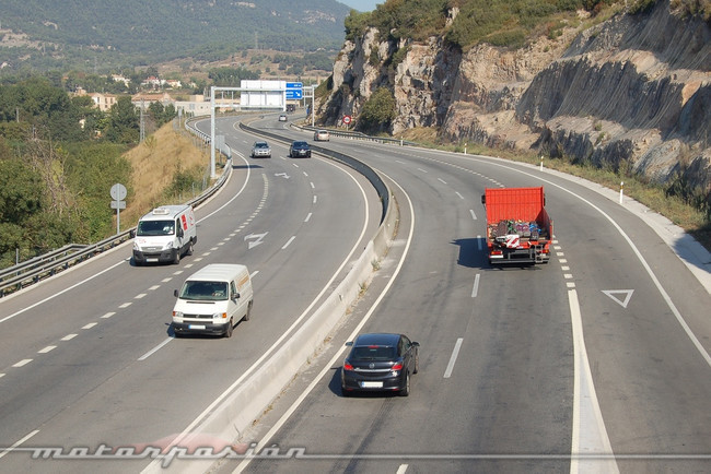 Circulación por autovía