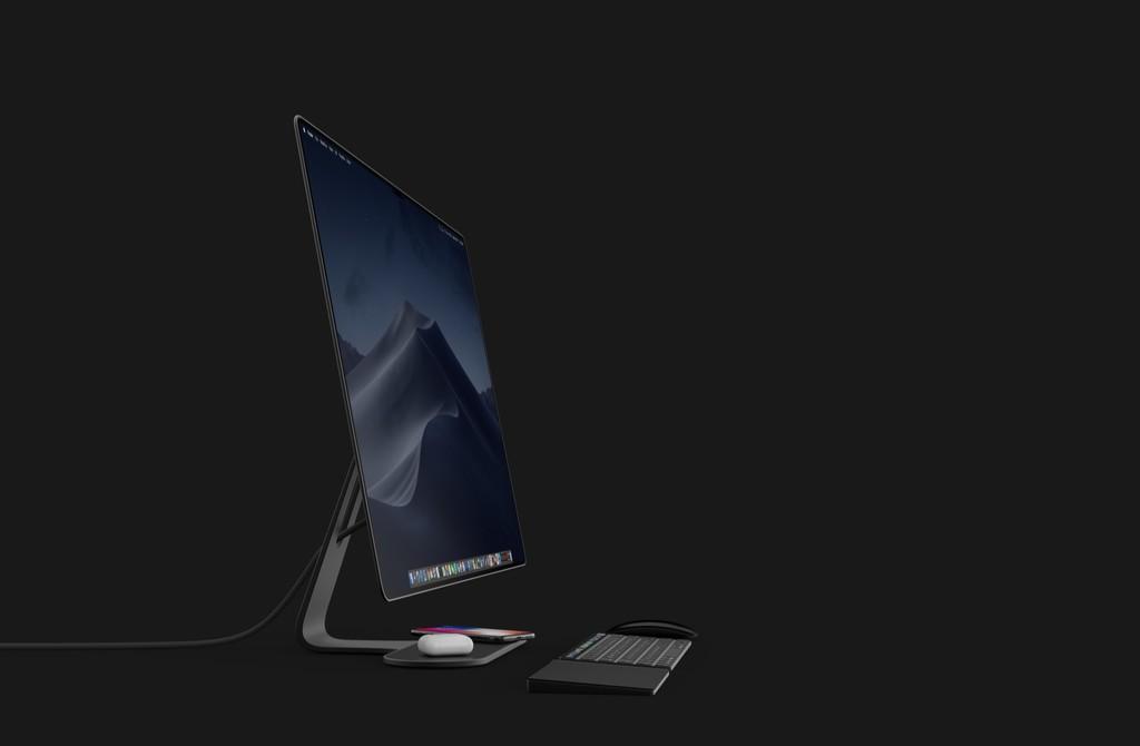 Este concepto de iMac tiene todo lo que le pedimos a Apple: sin marcos, Touch Bar y hasta una AirPower integrada