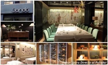 Restaurante Sandó, un restaurante que cocina según las instrucciones de Arzak