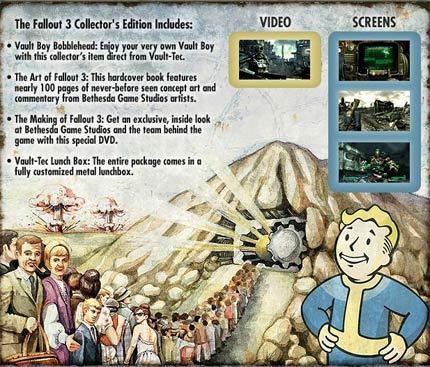 Así será la edición de coleccionista de 'Fallout 3'