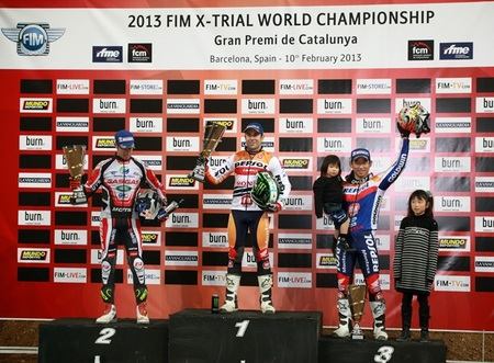 Podium X-Trial Barcelona