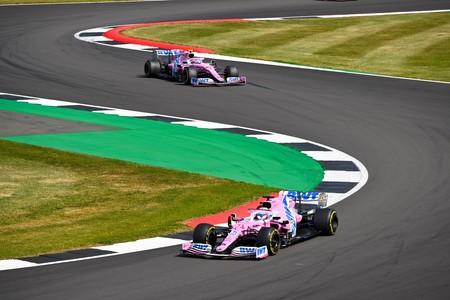 Hulkenberg Stroll Silverstone F1 2020
