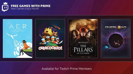 Overcooked y The Pillars of the Earth entre los juegos para descargar gratis con Twitch Prime en noviembre