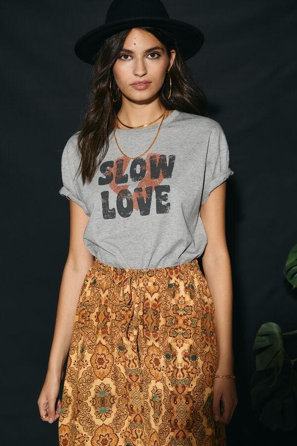 SLOWLOVE Camiseta gráfico
