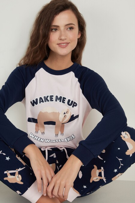 "Camiseta de Manga Larga de Algodón Mr. Wonderful ""Never stop dreaming"""