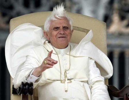 Benedicto 1.6 al viento