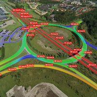 Este impresionante vídeo muestra cómo se puede monitorizar el tráfico desde un dron