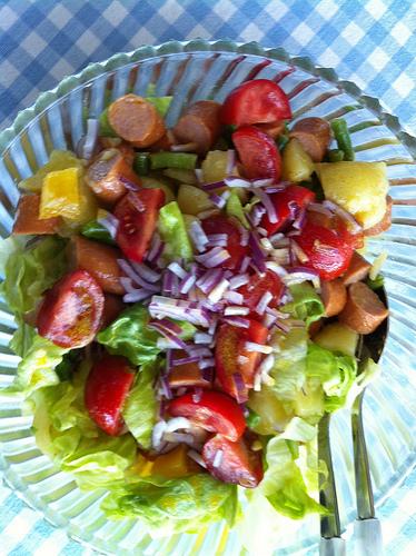 En verano... alimentos frescos, ligeros y saludables