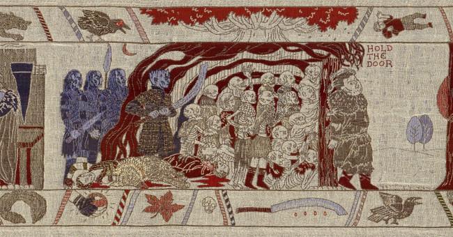 Toda la historia de Juego de Tronos, resumida en un precioso tapiz medieval de 66 metros