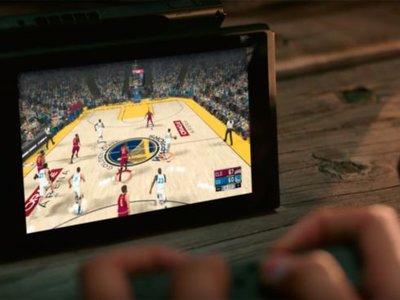 NBA 2K18 será otro de los juegos de deportes con una versión para Nintendo Switch