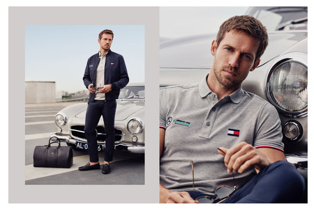 Tommy Hilfiger Adopta La Adrenalida De Mercedes Benz En Una Fabulosa Coleccion Capsula