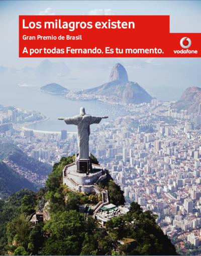 Vodafone espera un milagro en Brasil