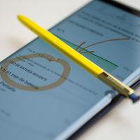 El truco de Samsung para eliminar la cámara frontal del Galaxy Note sería integrarla en el S Pen