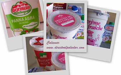 Crema agria, Crème fraîche, Sour Cream: o las otras natas...