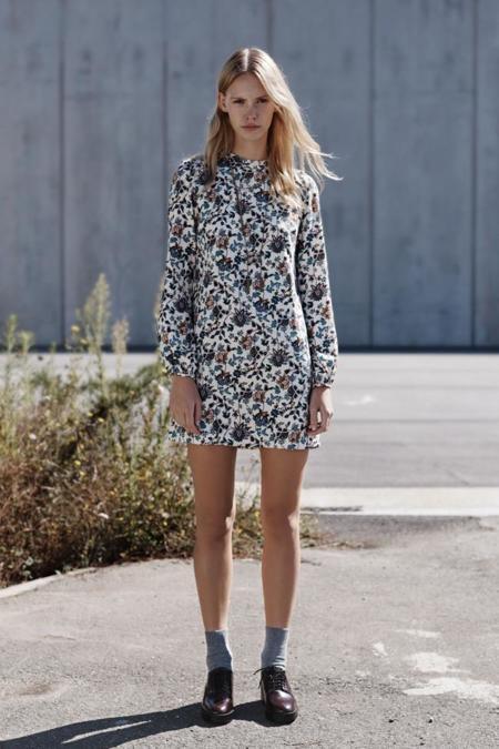 vestido zara trf septiembre coleccion 2014