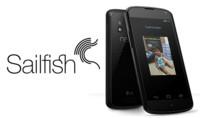 Jolla lanza oficialmente Sailfish OS para Nexus 4, todavía verde