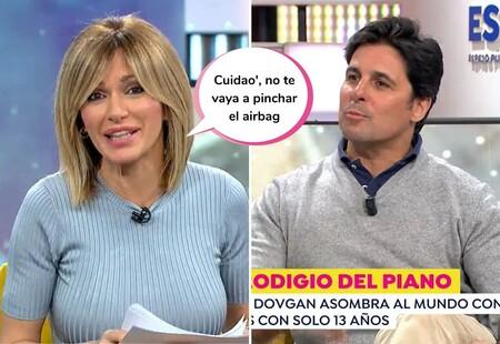 """Susanna Griso para los pies a Fran Rivera al hacer una pregunta sobre las mujeres: """"Sobraba"""""""