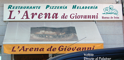 L'Arena di Giovanni, restaurante pizzería italiana