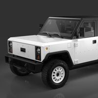 Los Bollinger B1 y B2 han mostrado sus diseños definitivos y, sí, van a seguir siendo coches eléctricos a lo Minecraft
