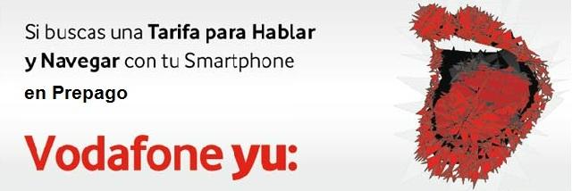 Vodafone smart yu: 8 gratis el primer mes