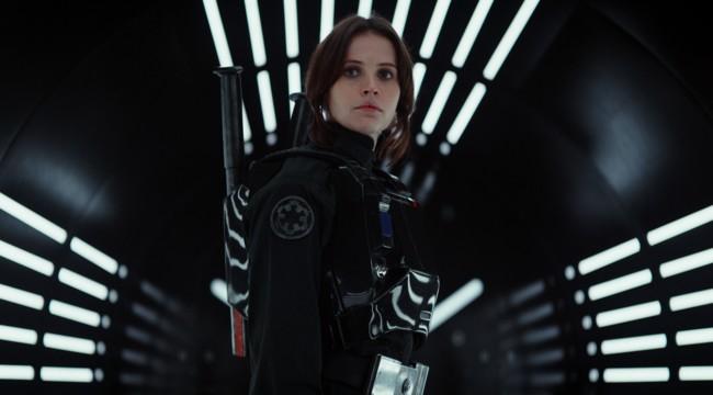 Felicity Jones en Rogue One