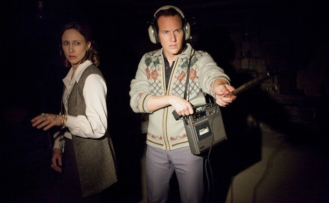 Una gran escena de 'Expediente Warren: The Conjuring'