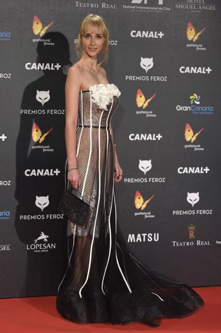 Ingrid García en Premios Feroz 2015