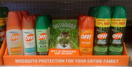 ¡Protégete de los mosquitos!