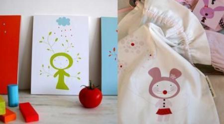Haciendo el indio, decoración infantil