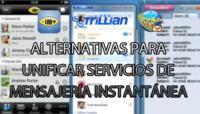 Tres alternativas indispensables para unificar servicios de mensajería instantánea