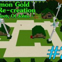 Más de 160 horas han hecho falta para recrear Johto en Minecraft