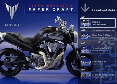 Construye tu propia Yamaha MT-01