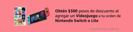 300 pesos de descuento al comprar un Nintendo Switch en Amazon México por el Buen Fin 2020