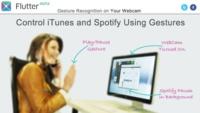Flutter, controla iTunes con tu iSight a lo Kinect