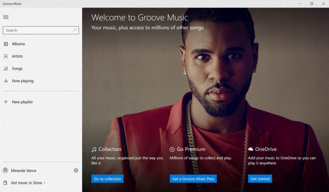 Welcome Screen For Groove