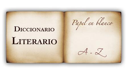 Diccionario Literario Papel en Blanco