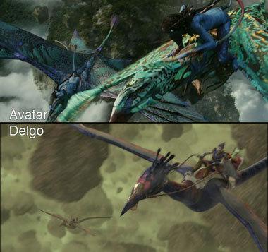 Foto de 'Avatar' Vs. 'Delgo' (2/7)