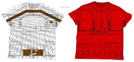 Prada apuesta por sus camisetas arquitectónicas